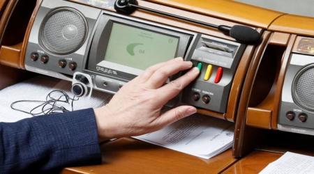 Voting in the Verkhovna Rada