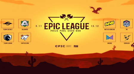 EPIC League по Dota 2