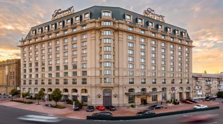 Киевский Fairmont Grand Hotel получил разрешение на помещение