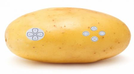 A potato instead of a joystick for PS5 - new Sony patent