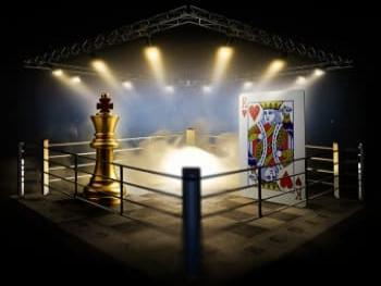 The first chess and poker tournament will be held in Ukraine
