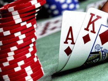 Полиция в Житомире взяла штурмом два игровых казино