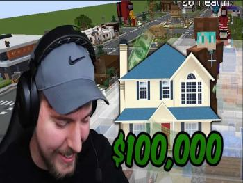 The blogger gave a Minecraft player a house for $100 thousand