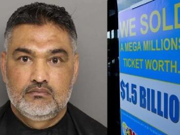 В США оштрафовали продавца счастливого лотерейного билета Mega Millions