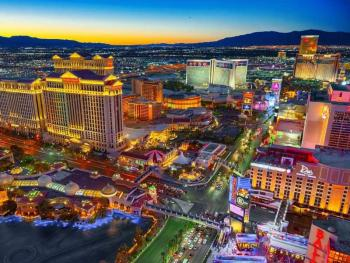 Новые стройки на Лас-Вегас-Стрип