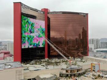В Лас-Вегасе загорелся новый отель-казино