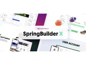 Игорный сайт мечты с новым SpringBuilder X от BetConstruct