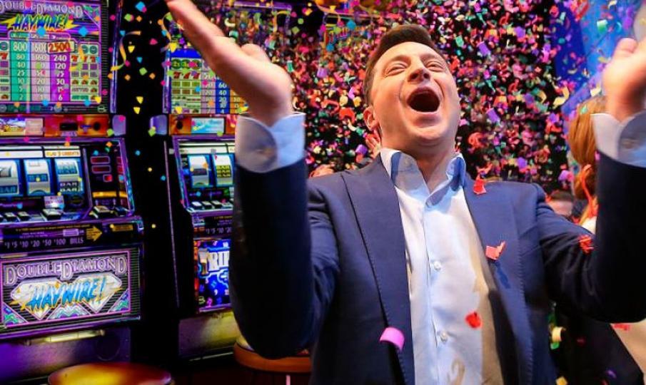 Владимир Зеленский о возможной легализации казино в Украине