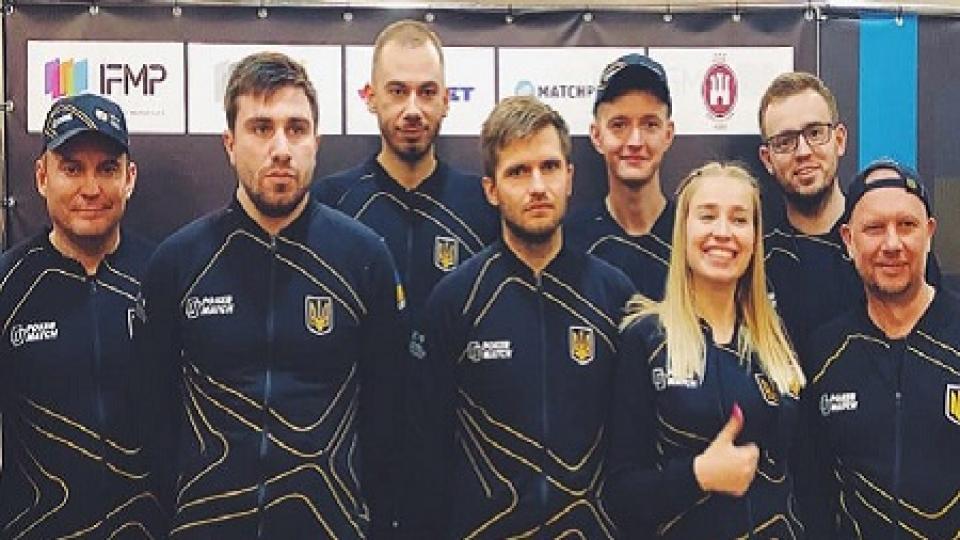 Сборная Украины завоевала бронзовые медали Кубка Наций