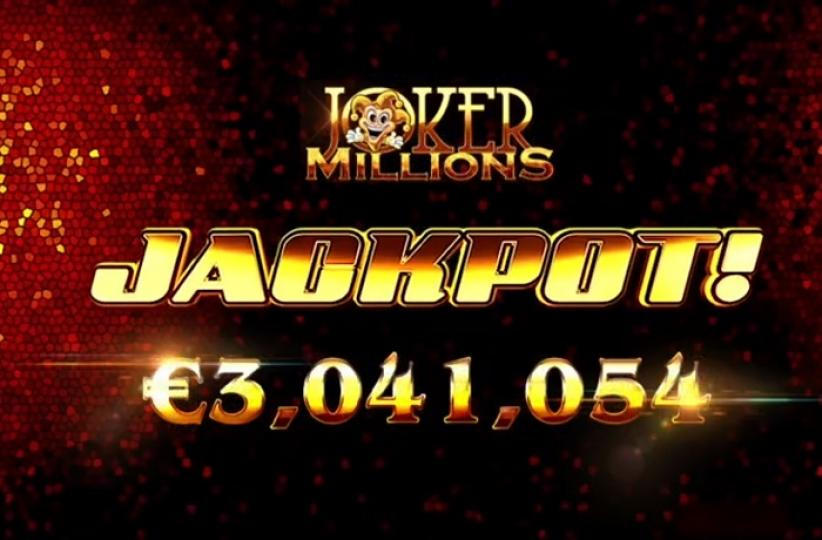 Игрок Casumo выиграл 3 миллиона евро на слоте Joker Millions