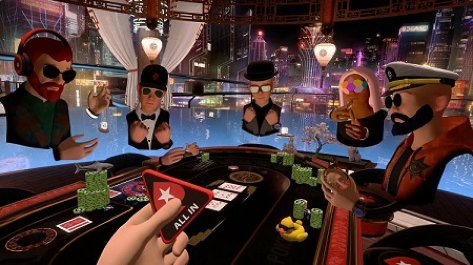 PokerStars анонсировал первую серию турниров в виртуальной реальности