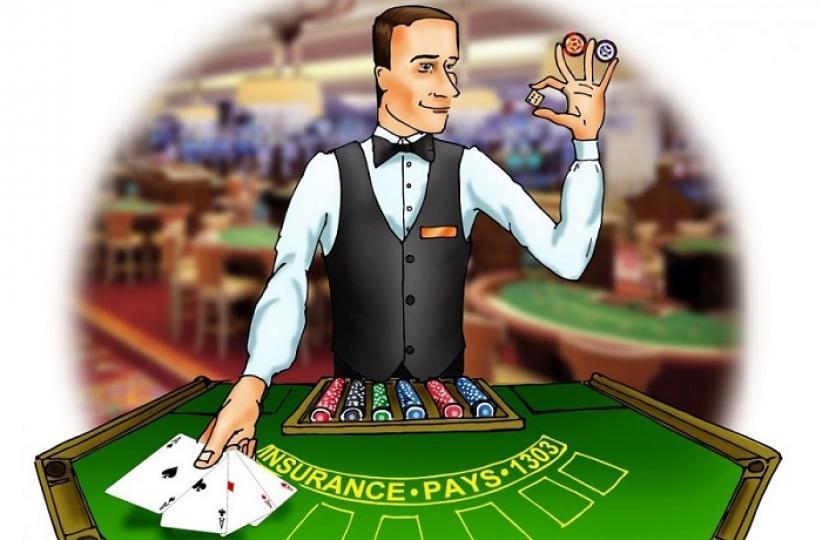 Крупье казино приемы работы играть в игровые аппараты робинзон
