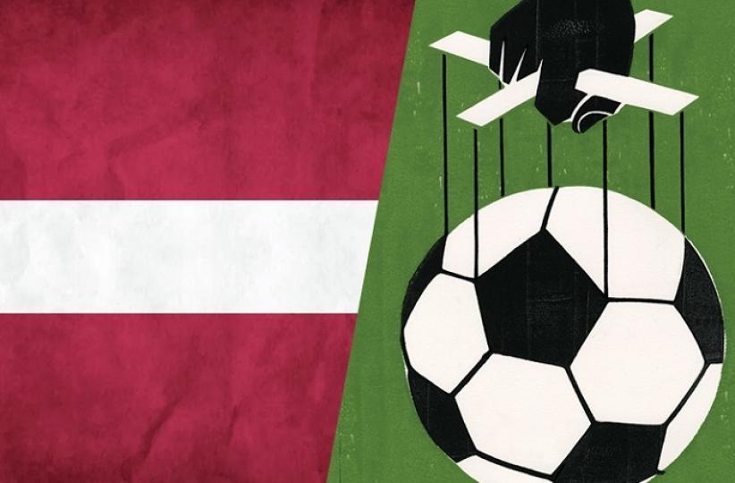В Латвии началась облава на участников договорных футбольных матчей
