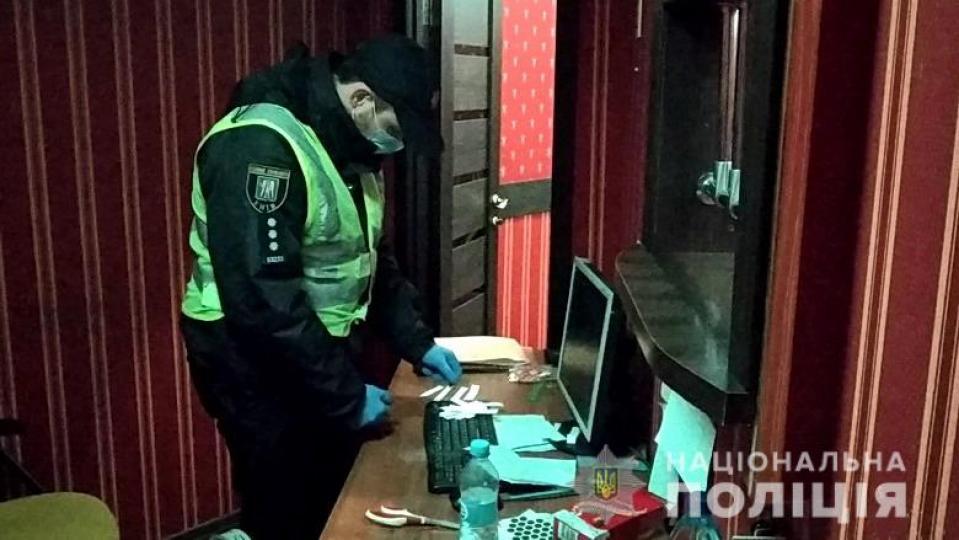 Полиция разоблачила подпольное казино в центре Киева