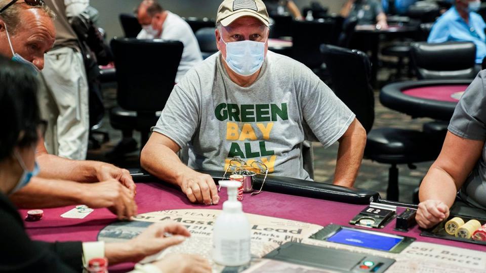 Casino fights coronavirus