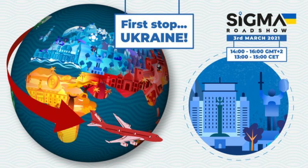 SiGMA Virtual Roadshow launches: First stop Ukraine