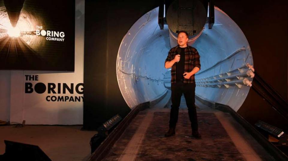 Компания Илона Маска строит подземную магистраль для казино в Лас-Вегасе