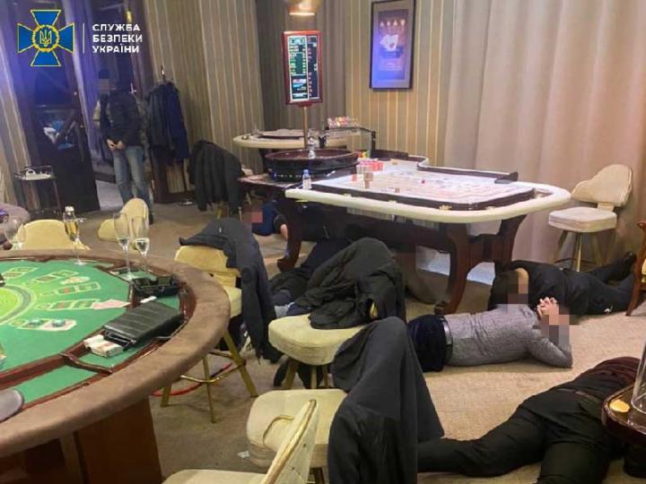СБУ закрыла 30 нелегальных игорных залов и 2 казино