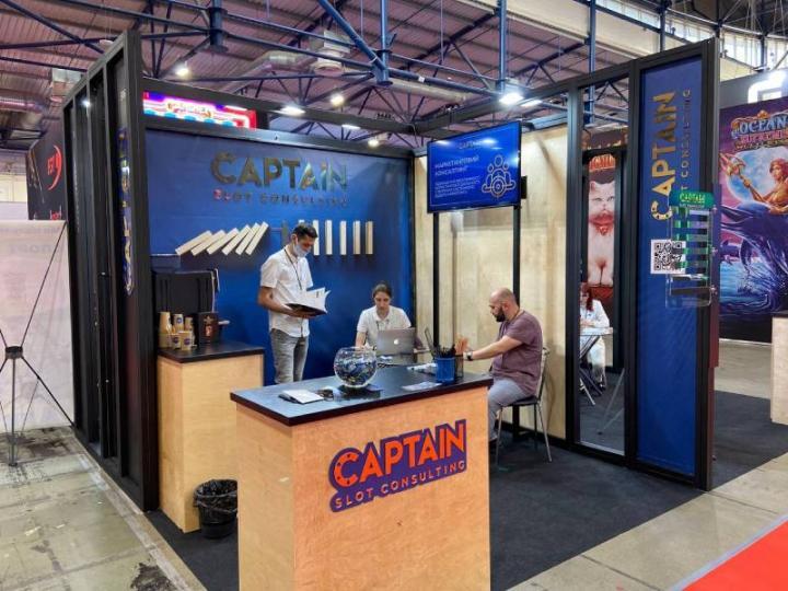 Бесплатные консультации на стенде: что предлагает Captain Slot Consulting на выставке Гейминг Индустрия?